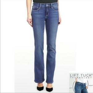 NYDJ Tummy Tuck Jeans, med dark wash, 12P